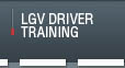 LGV Training Devon Exeter and the South West
